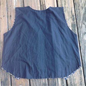 Vintage Jackets & Coats - Vintage Mola Appliqué Parrot Bird Vest 70s 80 Kuna